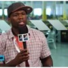 (Video) 50 Cent Speaks On Recent Car Crash
