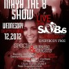 (LIVE) @Mayatheb show LIVE from SOB's tonight Wednesday Sept 12th @Hynaken