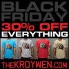 (Sale) Black Friday 30% OFF EVERYTHING for one whole week (Fri-Fri Sale) www.thekroywen.com @AmauryNYC