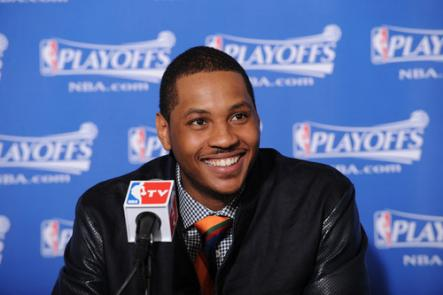 Carmelo Anthony's wish list starts with the New York Knicks, but that's not